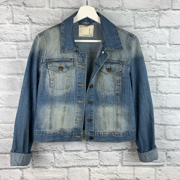 Life in Progress Denim Jacket M